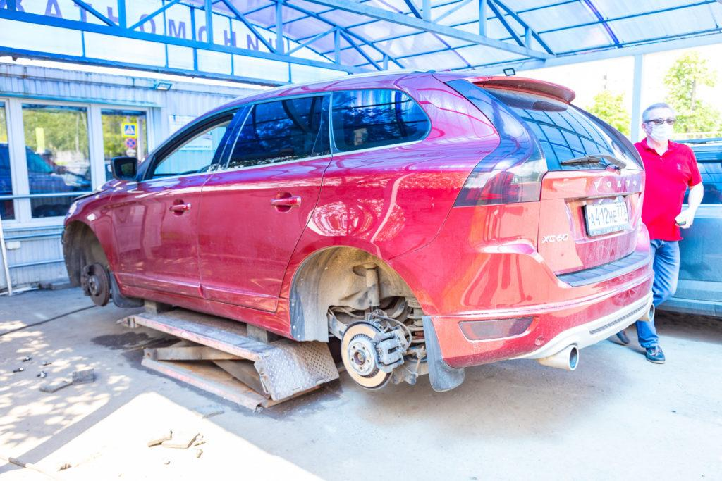 Шиномонтаж Volvo