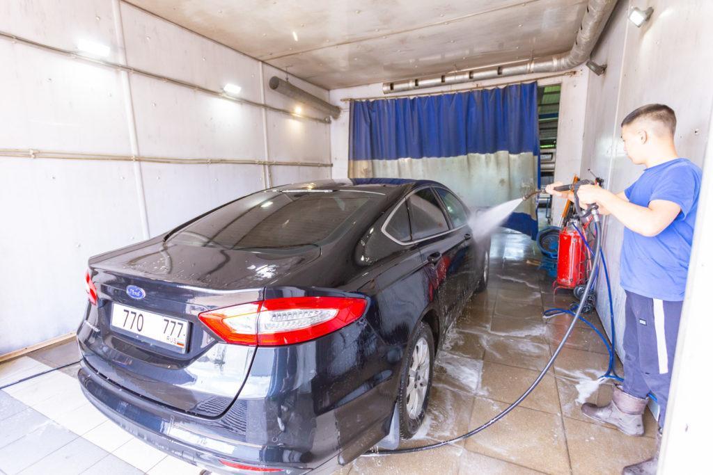 автомойка машин в Москве