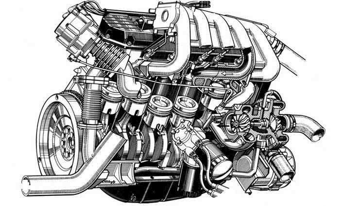 Капитальный ремонт двигателя авто