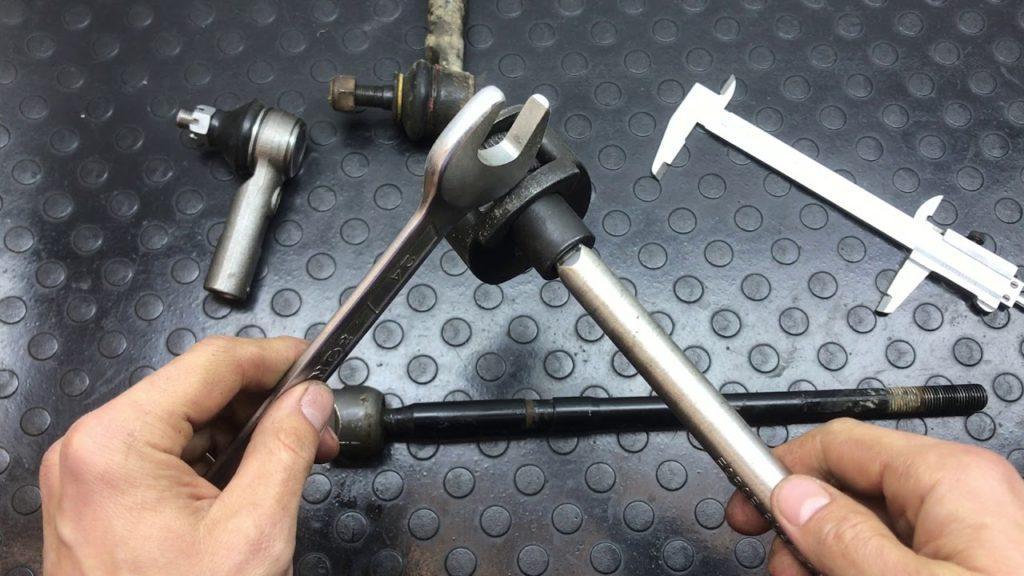 Замена рулевой тяги в авто
