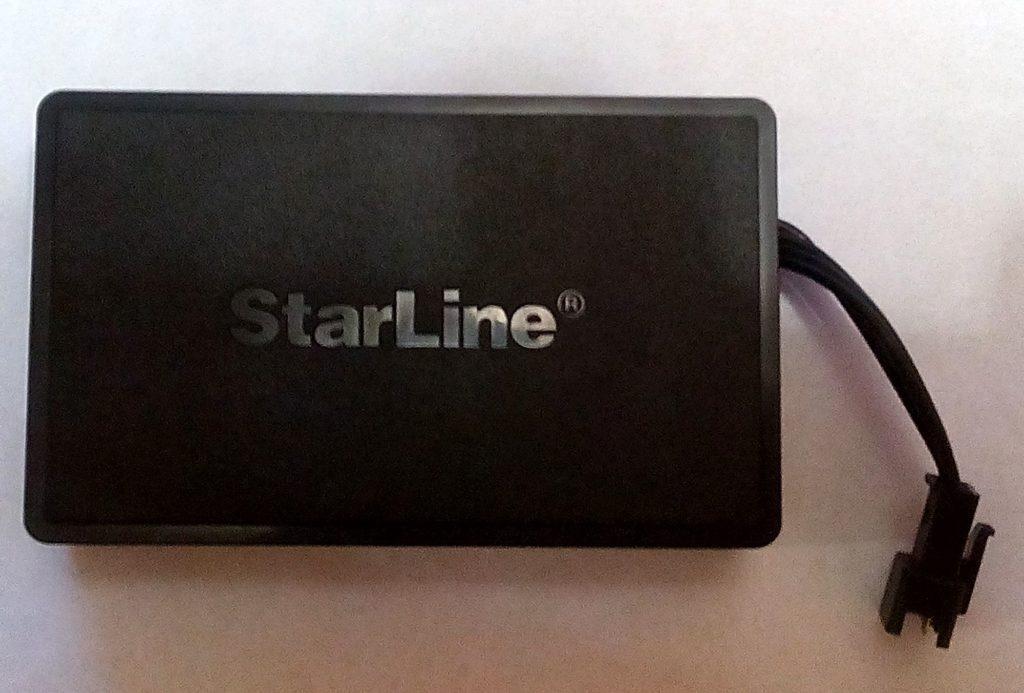 Установка GPS маяка starline
