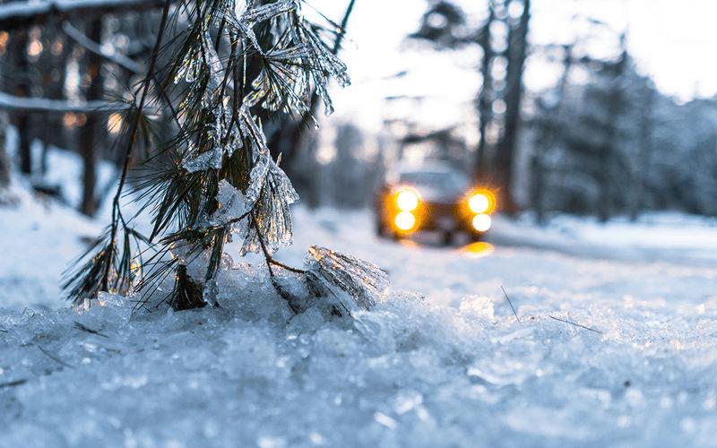 Зима и авто